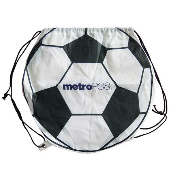 football shape backpack