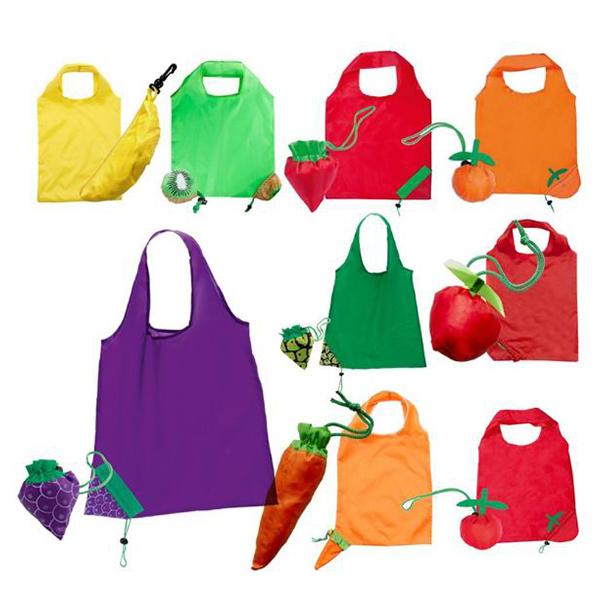 fruit shape foldable bag