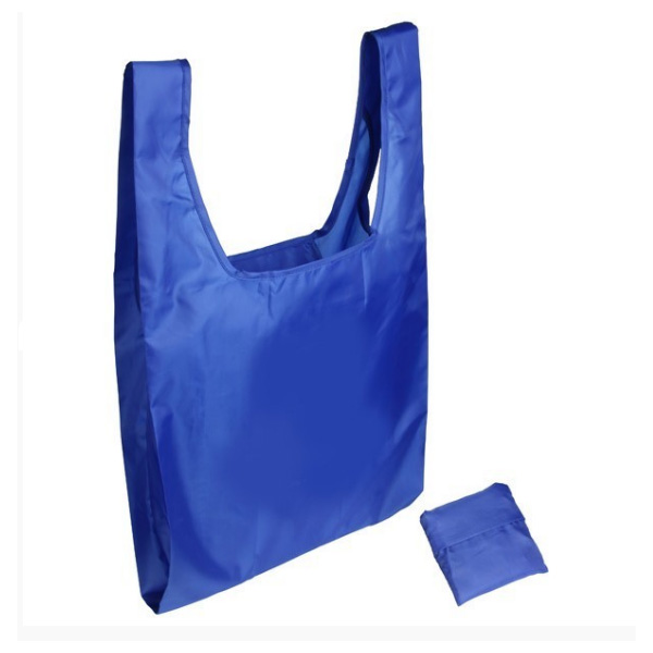 nylon folding bag with small pouch
