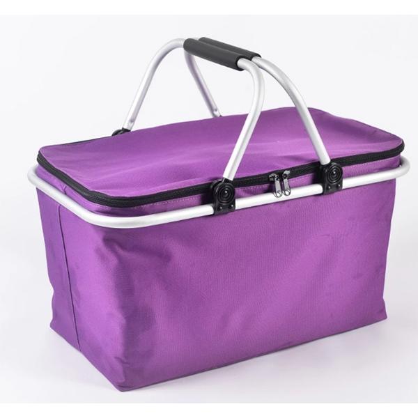 foldable cooler basket